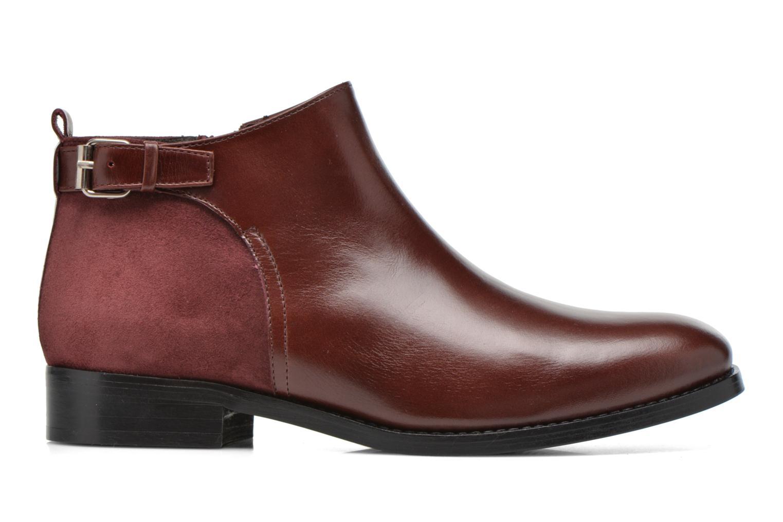 Bottines et boots Georgia Rose Tatouille Bordeaux vue derrière