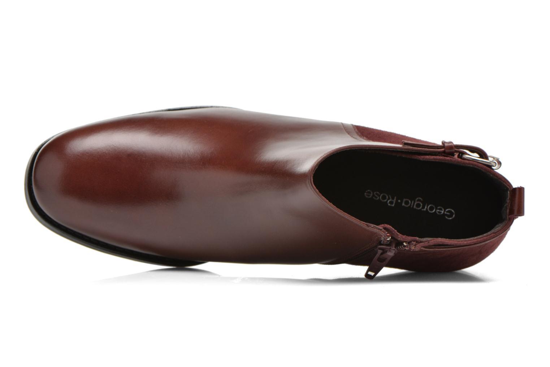 Bottines et boots Georgia Rose Tatouille Bordeaux vue gauche