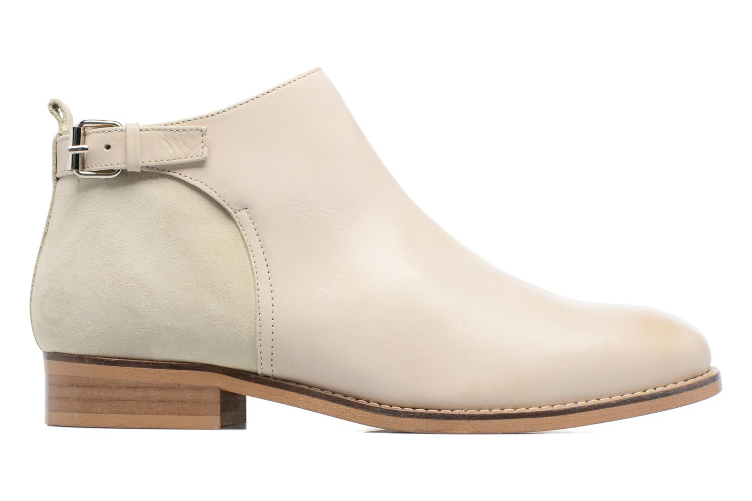 Ankle boots Georgia Rose Tatouille Beige back view