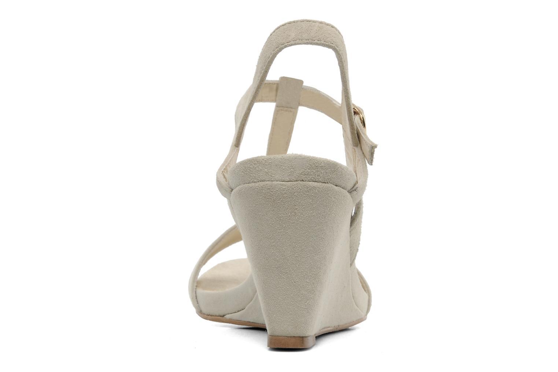 Sandalen Georgia Rose Tatopol Beige rechts