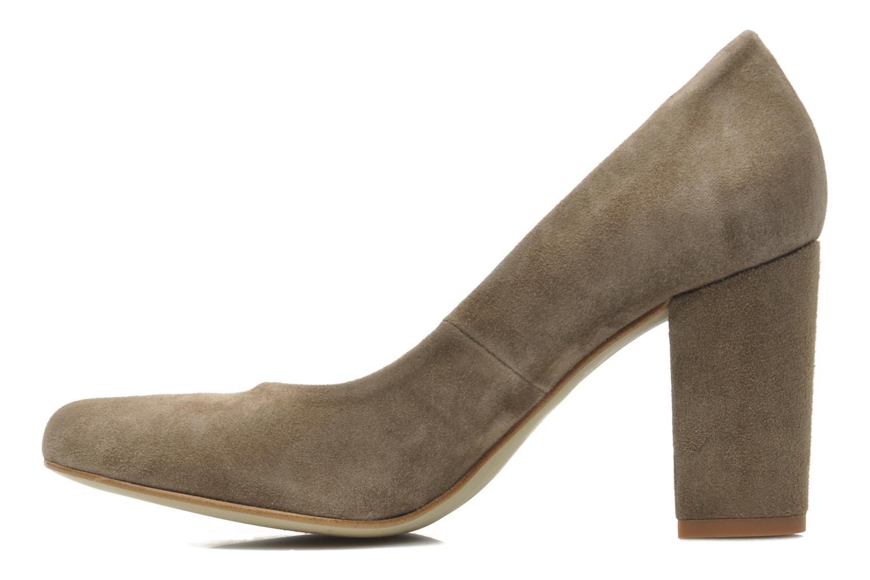 High heels Georgia Rose Tatuc Beige front view