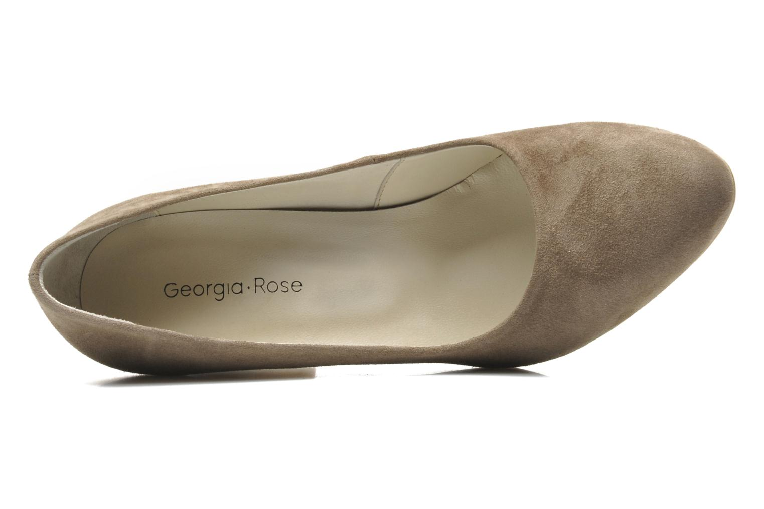High heels Georgia Rose Tatuc Beige view from the left