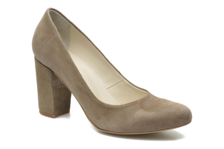 High heels Georgia Rose Tatuc Beige detailed view/ Pair view