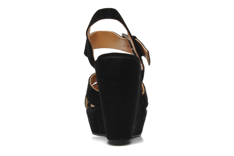 Sandales et nu-pieds M PAR M Festin Noir vue droite