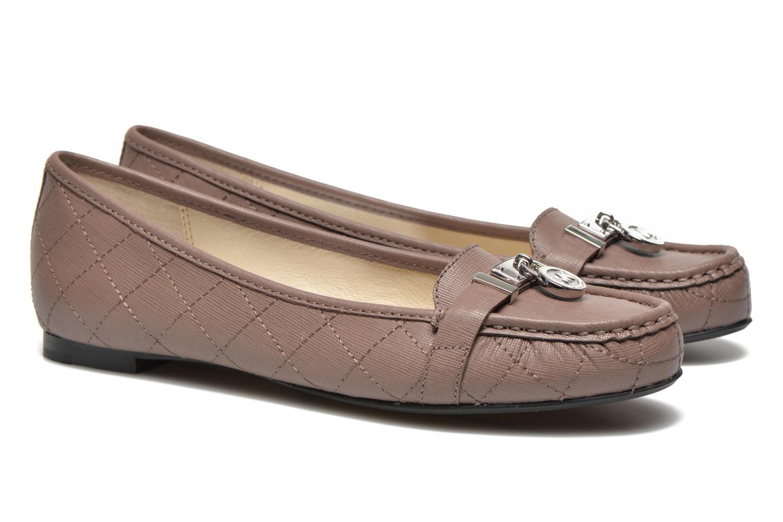 Loafers Michael Michael Kors Hamilton Moc Beige 3/4 view