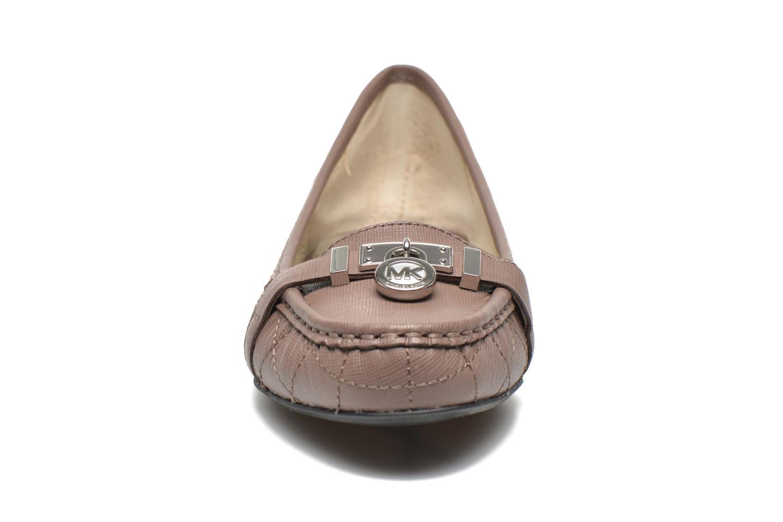 Loafers Michael Michael Kors Hamilton Moc Beige model view