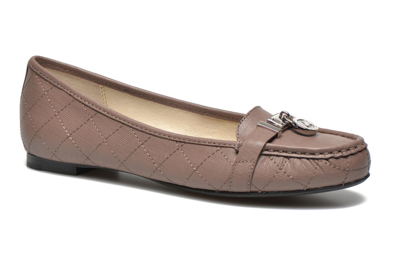 Loafers Michael Michael Kors Hamilton Moc Beige detailed view/ Pair view