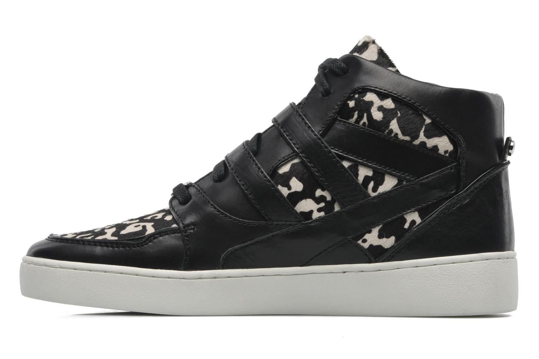 Sneaker Michael Michael Kors Robin High Top schwarz ansicht von vorne