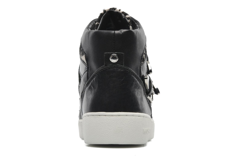 Sneaker Michael Michael Kors Robin High Top schwarz ansicht von rechts