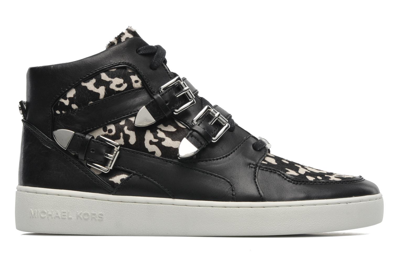 Sneaker Michael Michael Kors Robin High Top schwarz ansicht von hinten