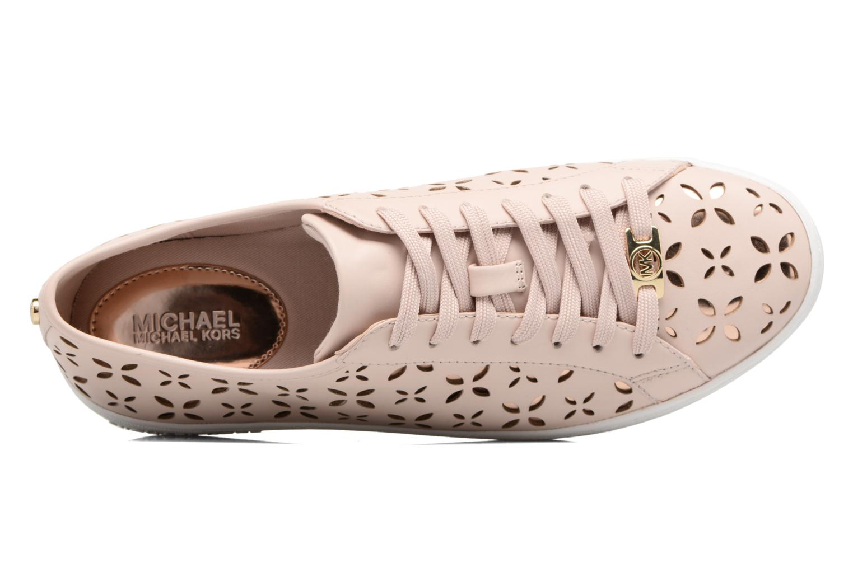 Sneaker Michael Michael Kors Keaton Sneaker rosa ansicht von links