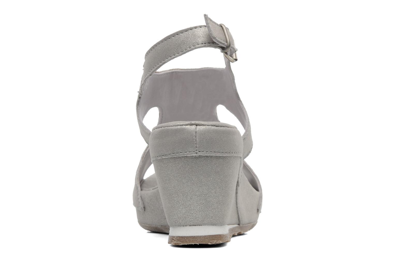 Sandales et nu-pieds Khrio Jolio N Gris vue droite