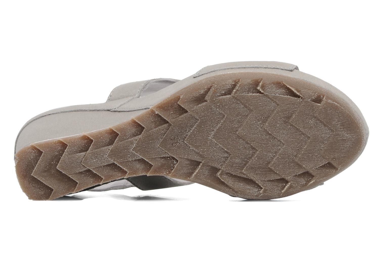 Sandales et nu-pieds Khrio Jolio N Gris vue haut