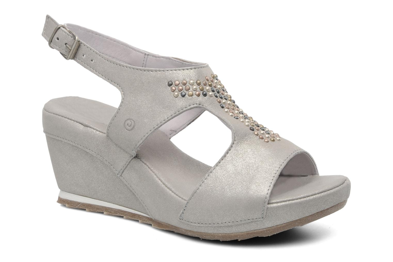 Sandales et nu-pieds Khrio Jolio N Gris vue détail/paire
