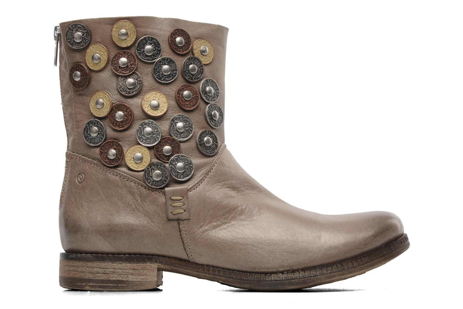 Ankle boots Khrio Bala Beige back view