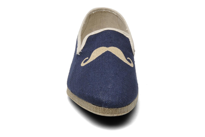 Chaussons Rondinaud Merlin Bleu vue portées chaussures