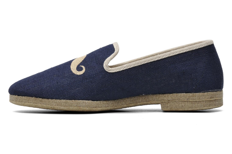 Pantoffels Rondinaud Merlin Blauw voorkant
