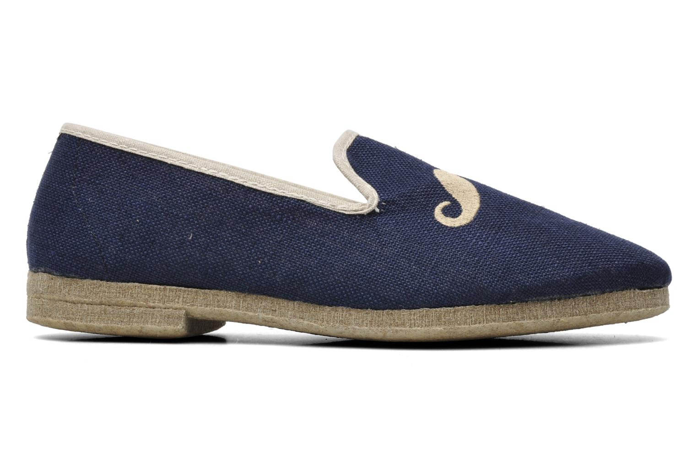 Pantoffels Rondinaud Merlin Blauw achterkant