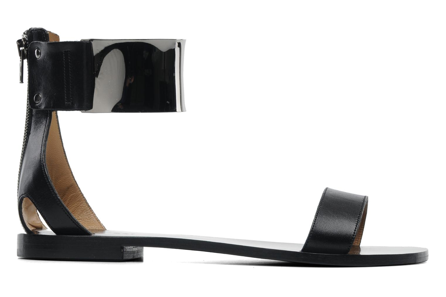 Sandals Gino Rossi Franco Black back view