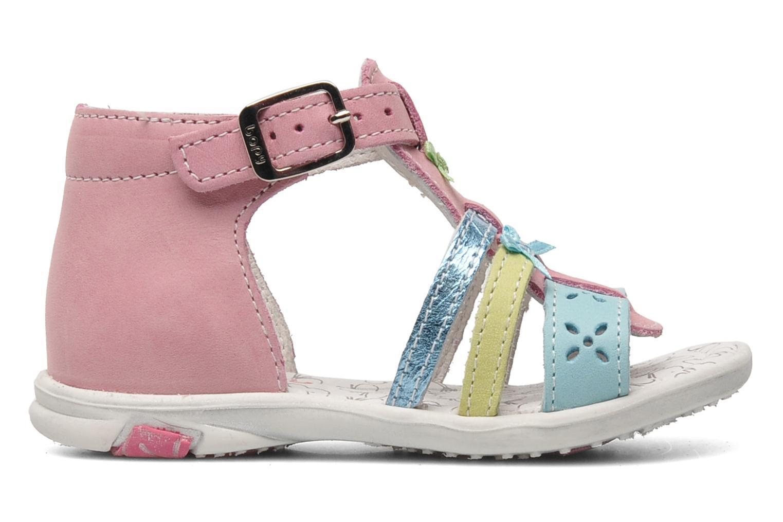 Sandalen Bopy BAMBI rosa ansicht von hinten