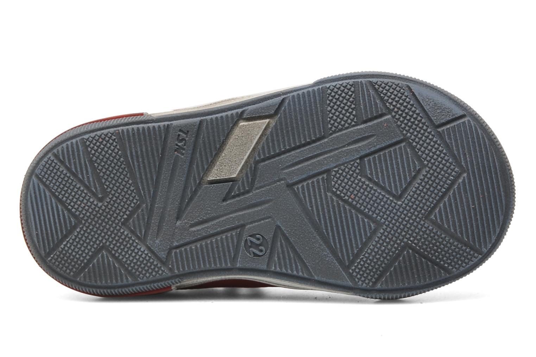 Chaussures à scratch Bopy BESSAT Rouge vue haut