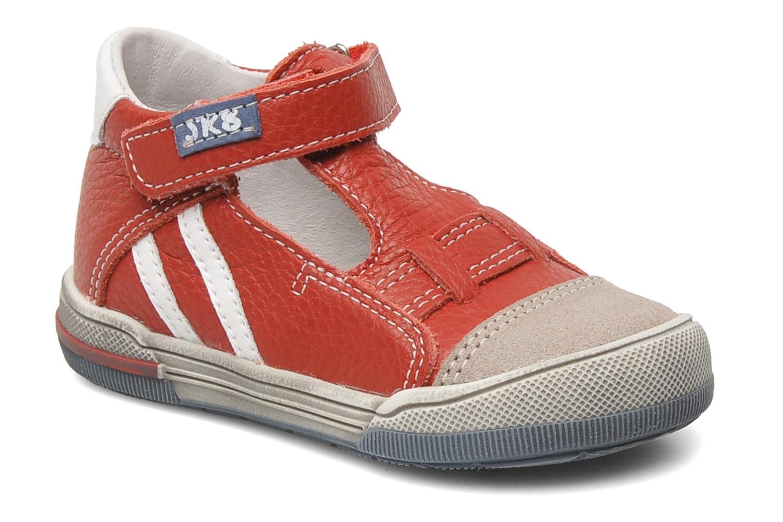 Chaussures à scratch Bopy BESSAT Rouge vue détail/paire