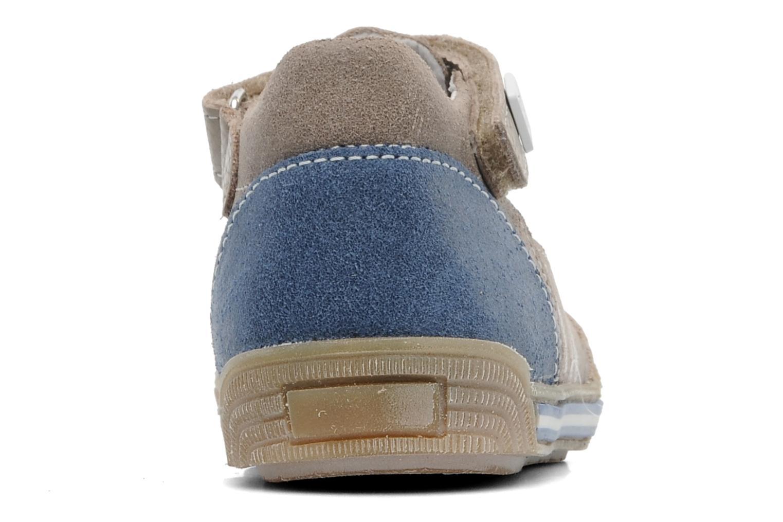 Sandales et nu-pieds Bopy BRICO Beige vue droite