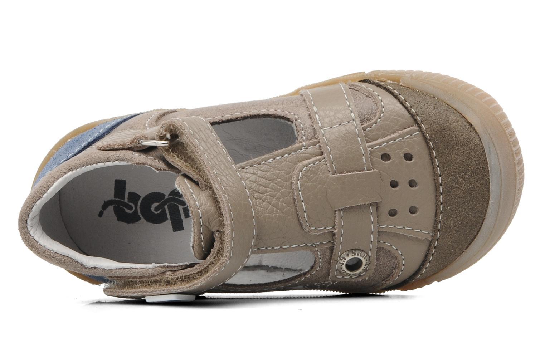 Sandales et nu-pieds Bopy BRICO Beige vue gauche