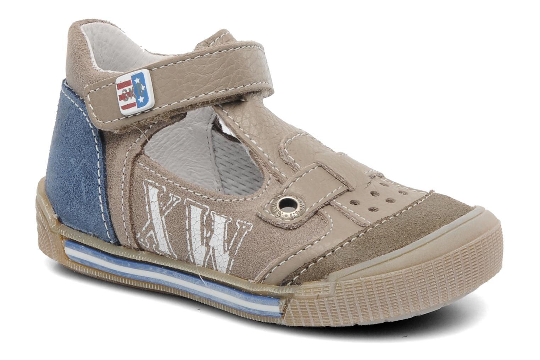Sandales et nu-pieds Bopy BRICO Beige vue détail/paire