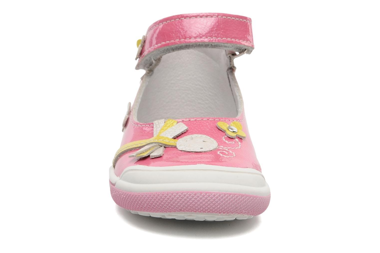 Sandalen Bopy BULGA rosa schuhe getragen