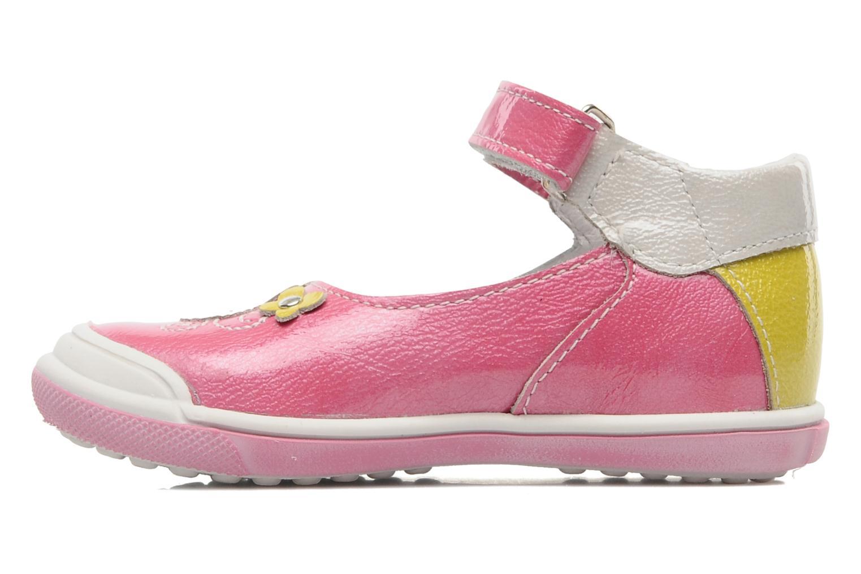 Sandalen Bopy BULGA rosa ansicht von vorne