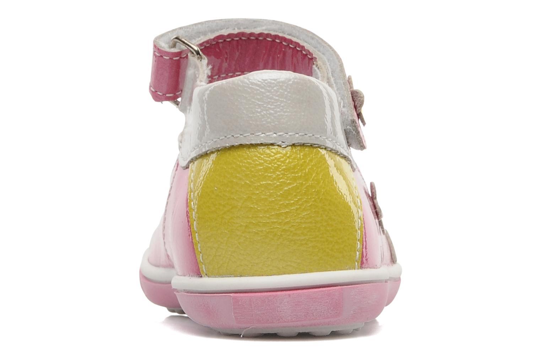 Sandalen Bopy BULGA rosa ansicht von rechts