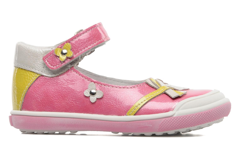 Sandalen Bopy BULGA rosa ansicht von hinten