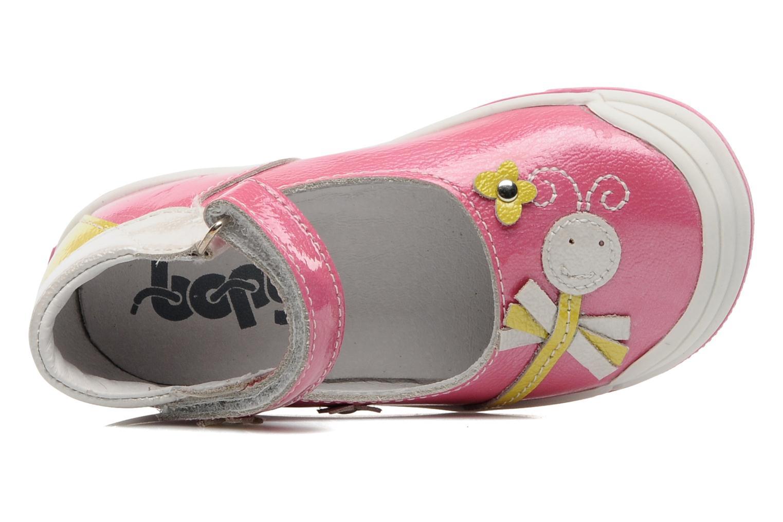 Sandales et nu-pieds Bopy BULGA Rose vue gauche
