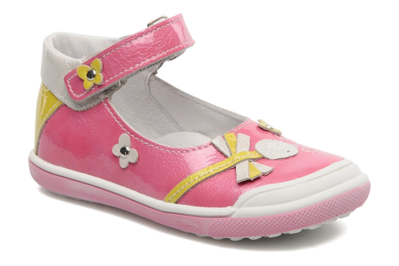 Sandales et nu-pieds Bopy BULGA Rose vue détail/paire