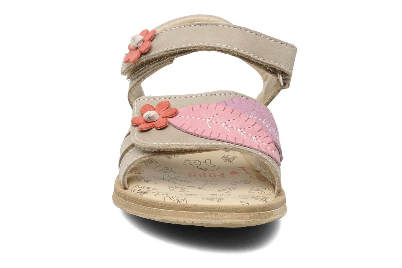 Sandales et nu-pieds Bopy ECOFIT Beige vue portées chaussures