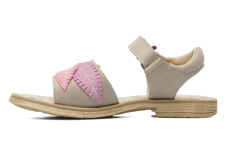 Sandales et nu-pieds Bopy ECOFIT Beige vue face