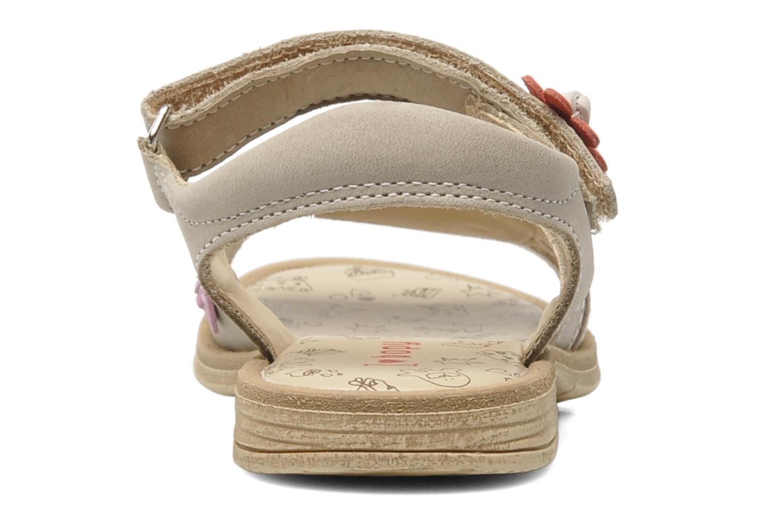 Sandales et nu-pieds Bopy ECOFIT Beige vue droite