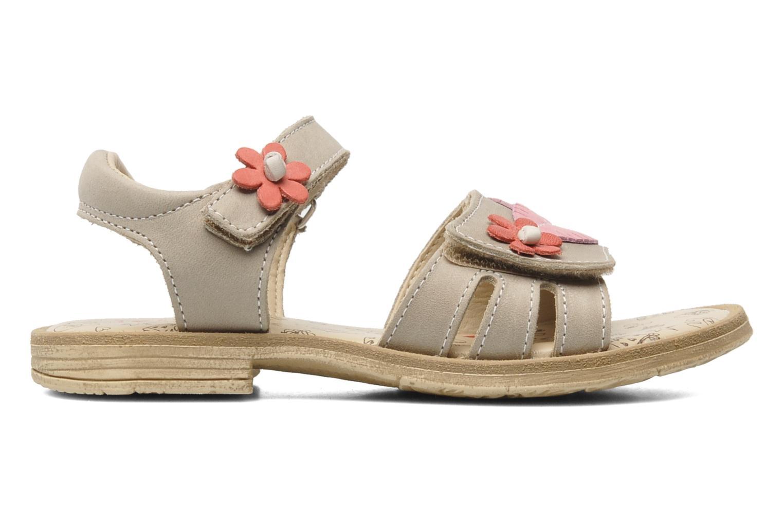 Sandales et nu-pieds Bopy ECOFIT Beige vue derrière