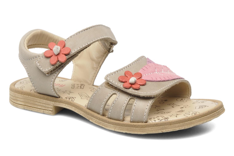 Sandales et nu-pieds Bopy ECOFIT Beige vue détail/paire