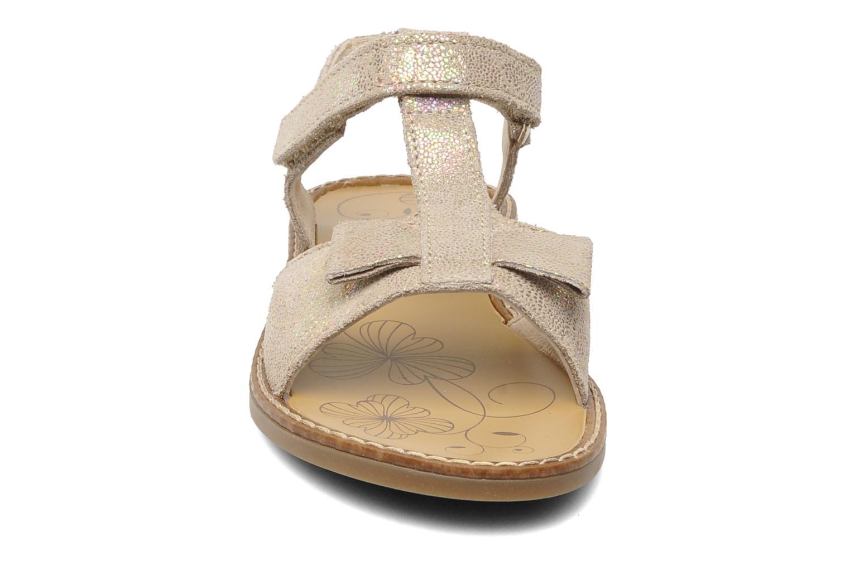 Sandales et nu-pieds Bopy ELOLO Beige vue portées chaussures