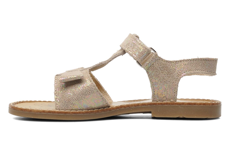 Sandales et nu-pieds Bopy ELOLO Beige vue face