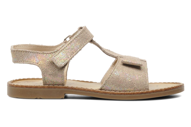 Sandales et nu-pieds Bopy ELOLO Beige vue derrière