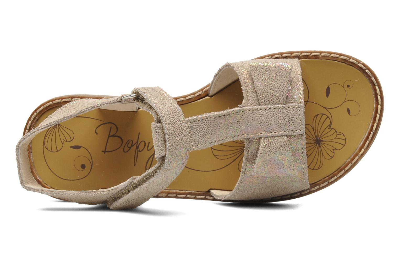 Sandales et nu-pieds Bopy ELOLO Beige vue gauche