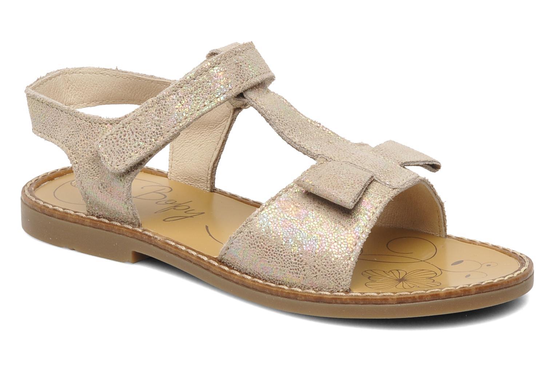 Sandales et nu-pieds Bopy ELOLO Beige vue détail/paire