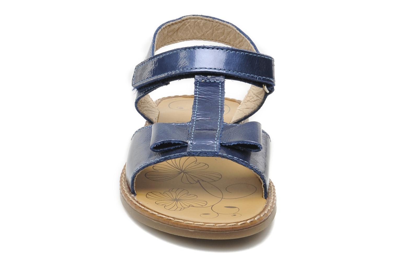 Sandales et nu-pieds Bopy ETUNIS Bleu vue portées chaussures