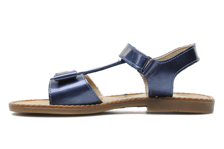 Sandales et nu-pieds Bopy ETUNIS Bleu vue face