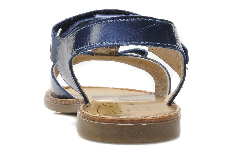 Sandales et nu-pieds Bopy ETUNIS Bleu vue droite