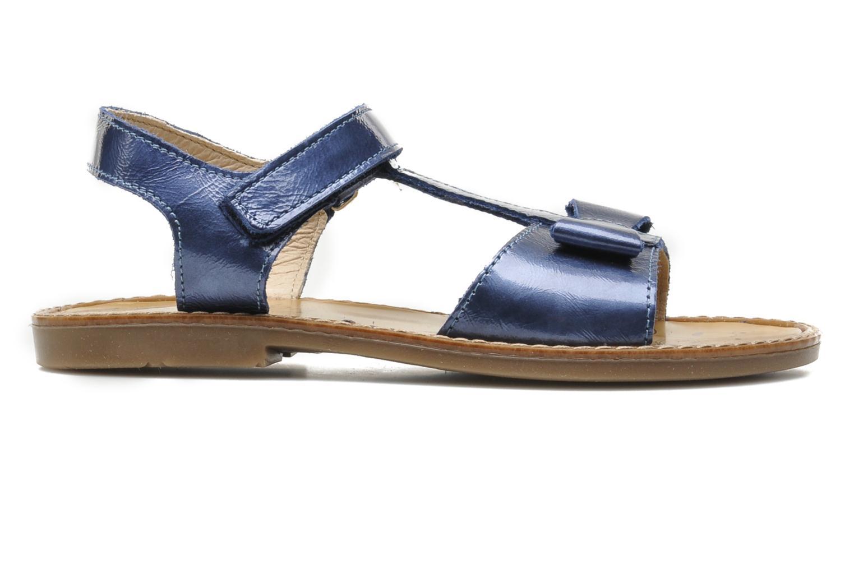 Sandales et nu-pieds Bopy ETUNIS Bleu vue derrière