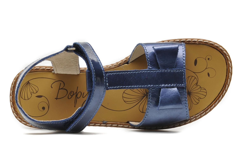 Sandalen Bopy ETUNIS blau ansicht von links